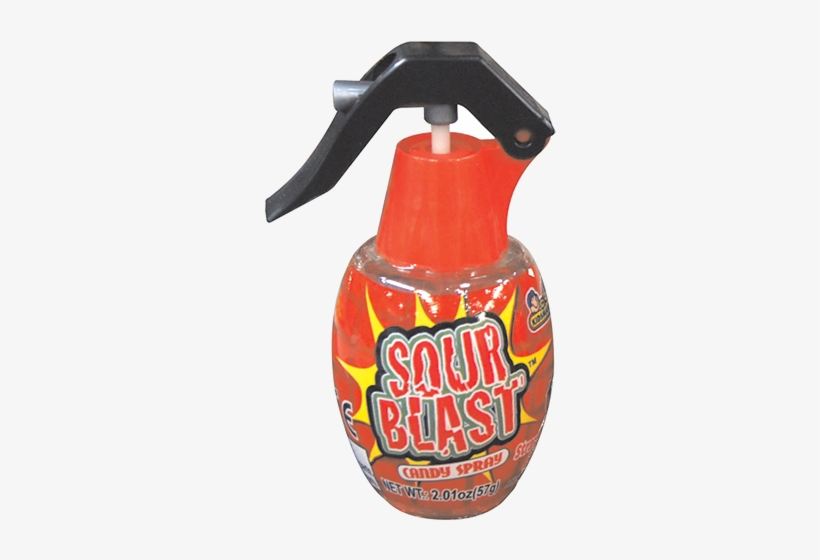 Sour Blast Candy Spray For Fresh Candy And Great Service, - Sour Blast Candy Spray, transparent png #4083221