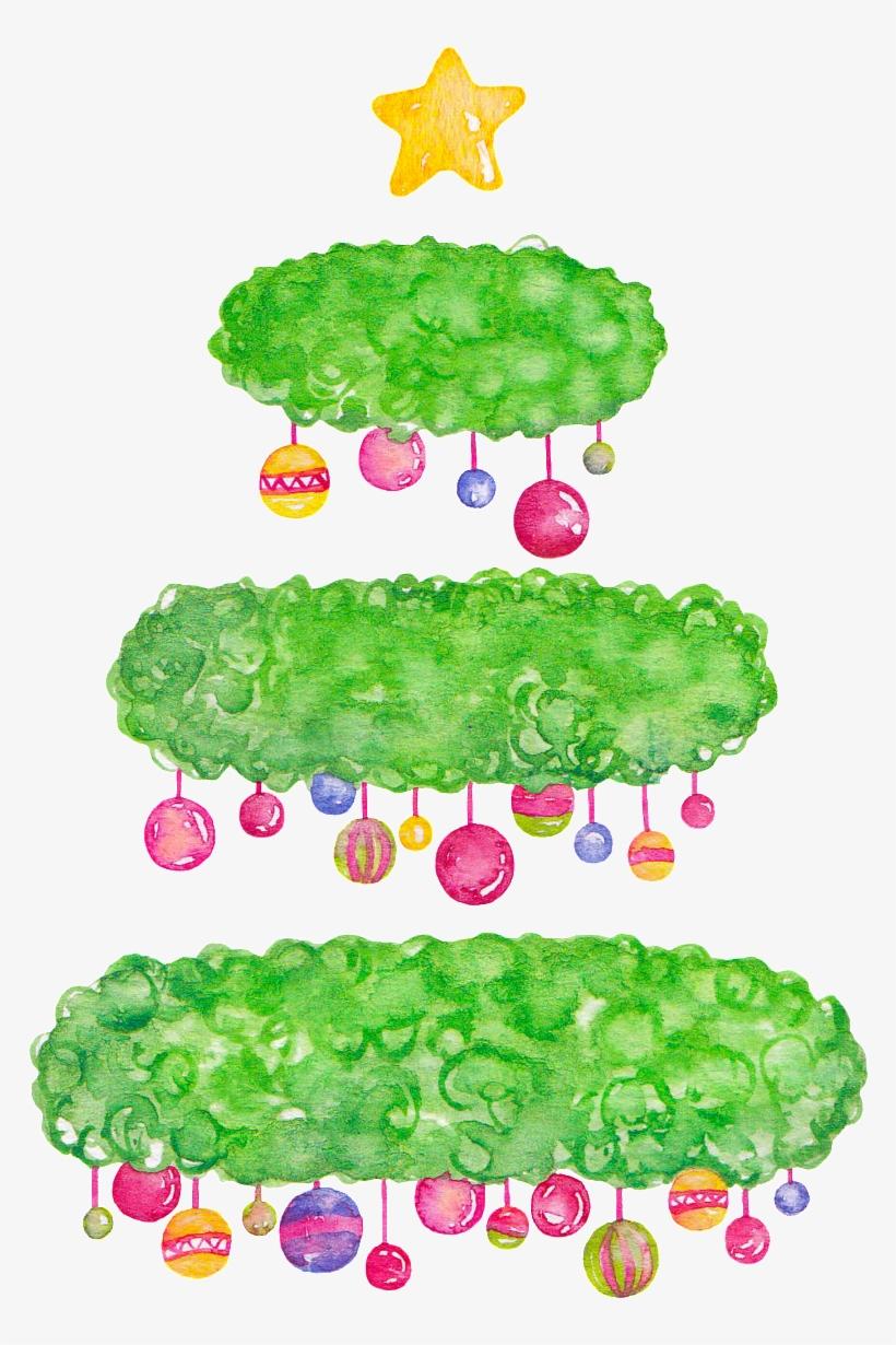 Creative Abstract Christmas Tree Png Transparente - Christmas Tree, transparent png #4084509
