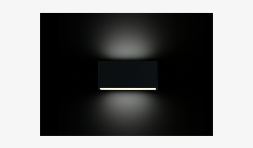 Up And Down Light Aluminum Led Outdoor Wall Light Wl577 - Light, transparent png #4086042