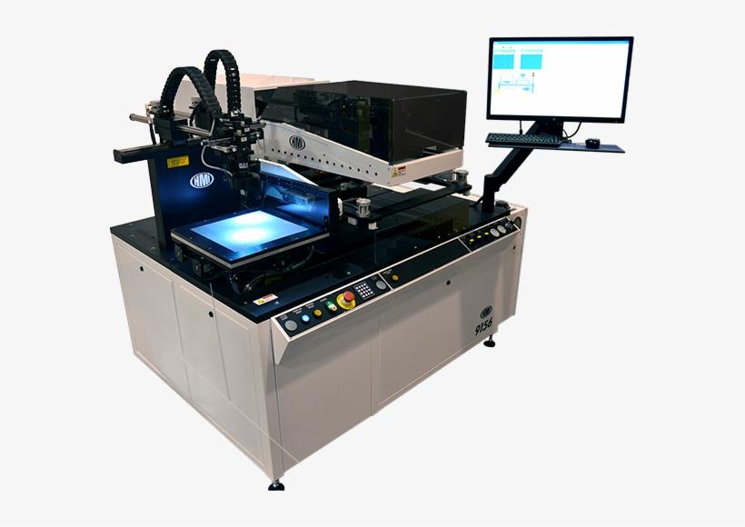 Msp-9156 Automatic Screen Printer - Screen Printing, transparent png #4087395
