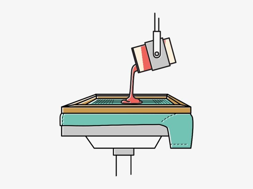 Direct Screen Printing - Screen Printing, transparent png #4087494