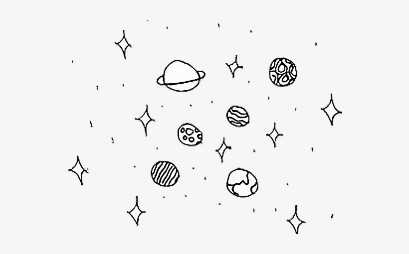 Report Abuse - Stars And Planets Drawing, transparent png #4088036