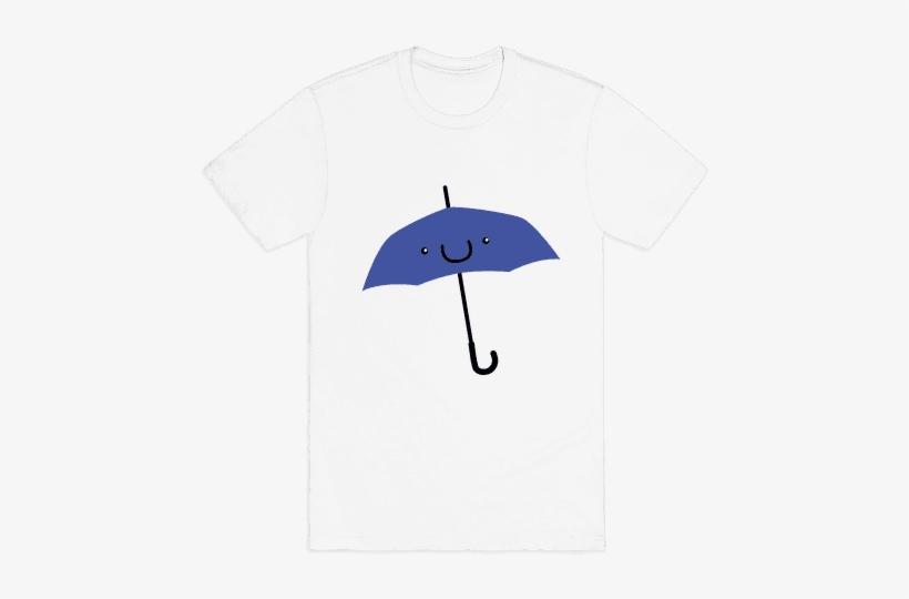 Blue Umbrella Mens T-shirt - Kk Do You Love Me, transparent png #4088614
