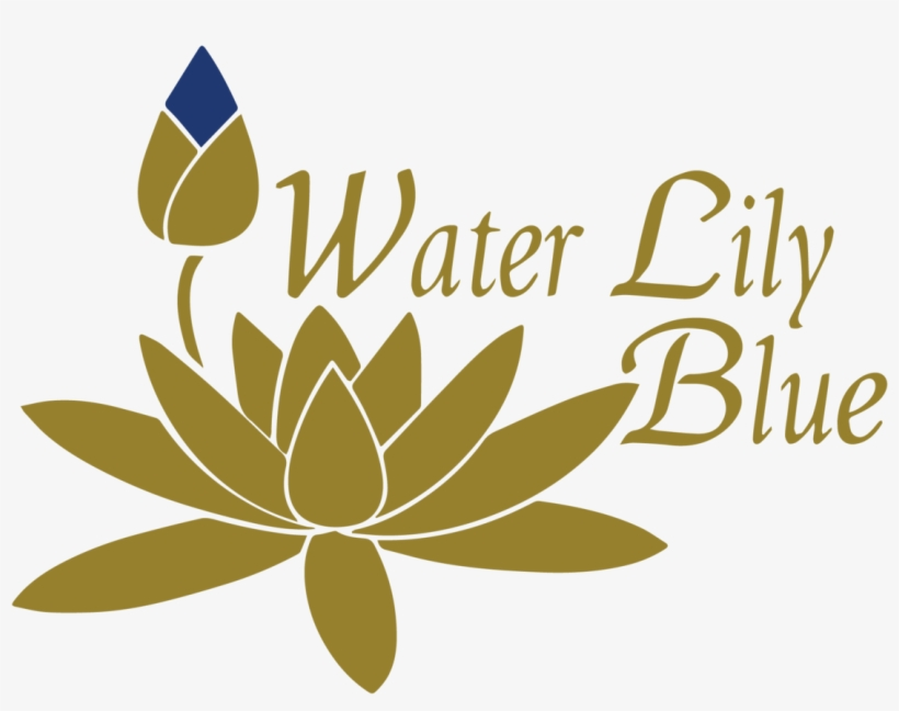 Water Lily Blue - Water Lily Flower Vector, transparent png #4089236