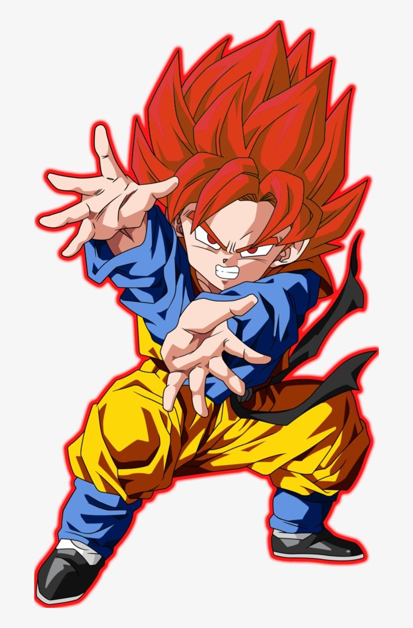 Saiyan God X-ray Wikia - Dragon Ball Goten Super Saiyan God, transparent png #4089622