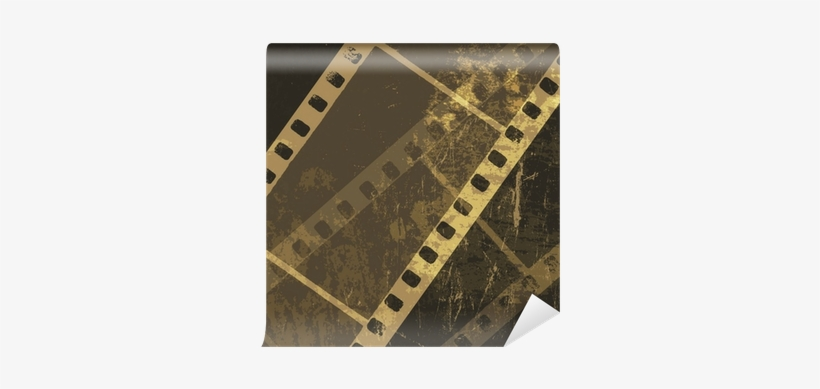 Grunge Film Strip Background Film Free Transparent Png Download