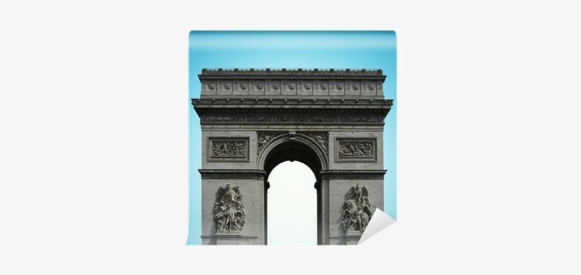 Paris Arc De Triomphe On The Champs Elysees, France - Arc De Triomphe, transparent png #4096953