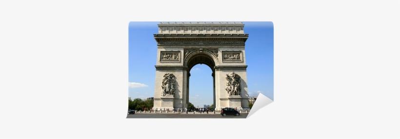 Paysage De Paris , L'arc De Triomphe Wall Mural • Pixers® - Arc De Triomphe, transparent png #4097410