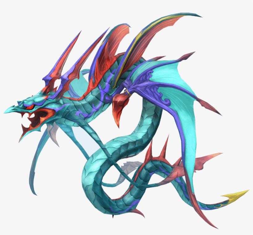 Vector Transparent Min Art Creatures Pinterest Final - World Of Final Fantasy Leviathan, transparent png #411104