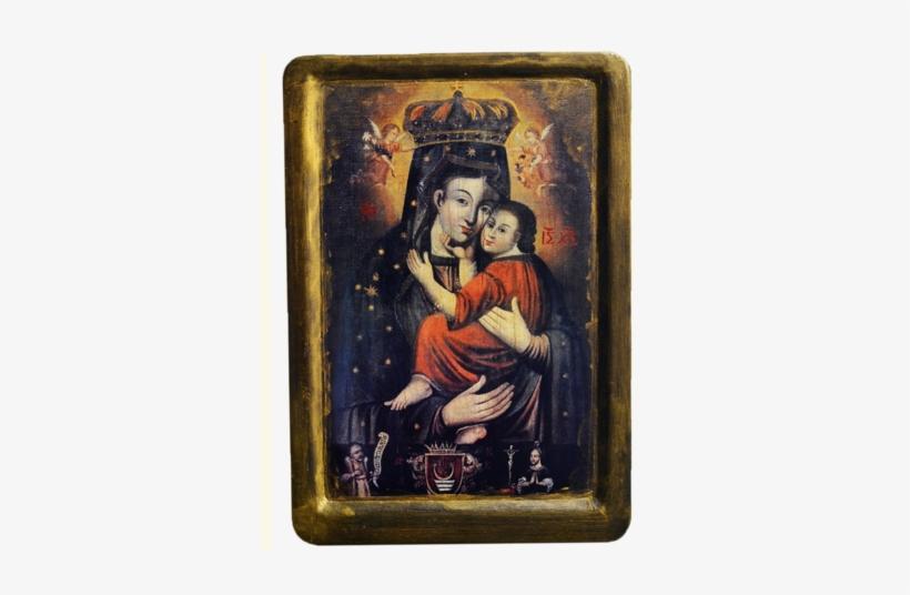 Blessed Virgin Mary - Ікона Богородиці Ніжності, transparent png #411531