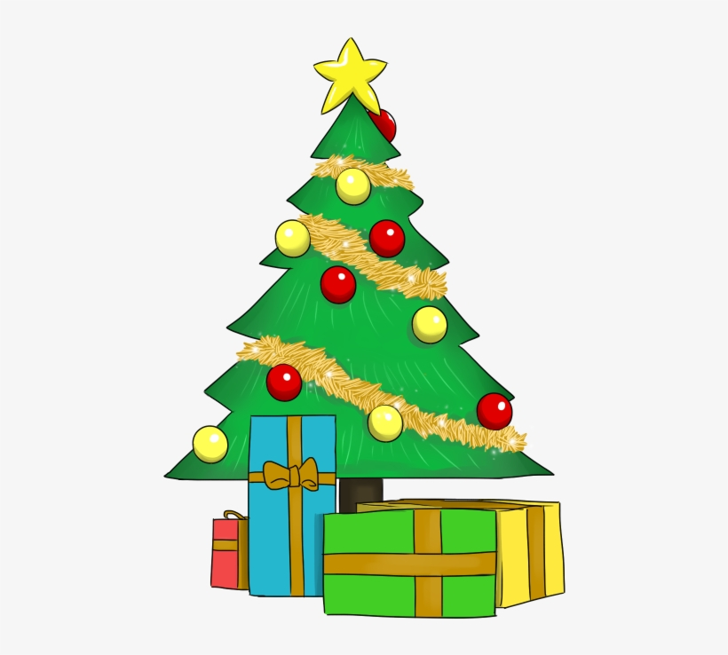 christmas tree with presents clipart christmas tree clipart transparent background free transparent png download pngkey christmas tree clipart transparent