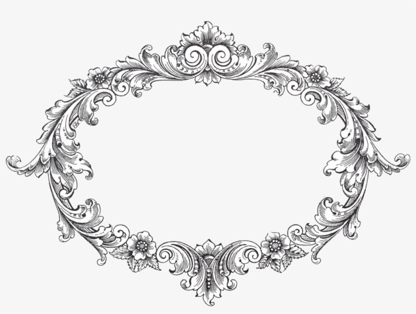 Vintage Frame Png Free - Transparent Vintage Frame Border, transparent png #411742