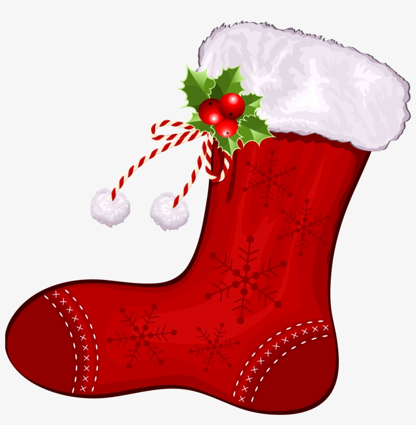 28 Collection Of Cute Christmas Stocking Clipart - Christmas Stocking Clipart, transparent png #412112