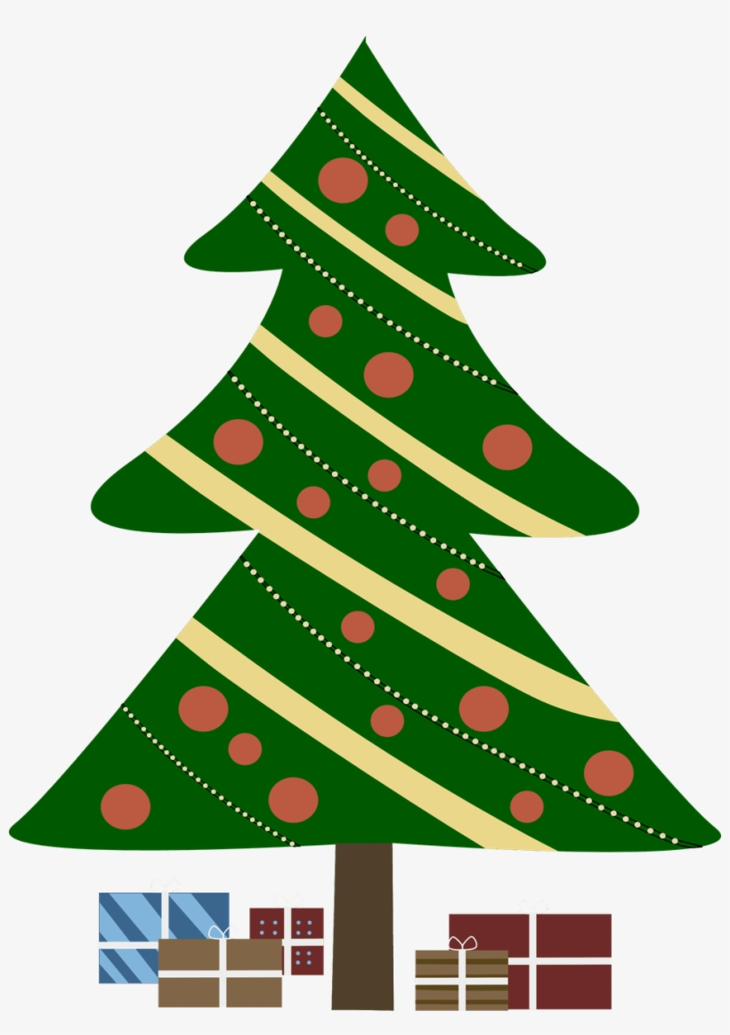 297 Free Christmas Tree Clip Art Images For Green Christmas - Christmas Tree Clipart, transparent png #412159