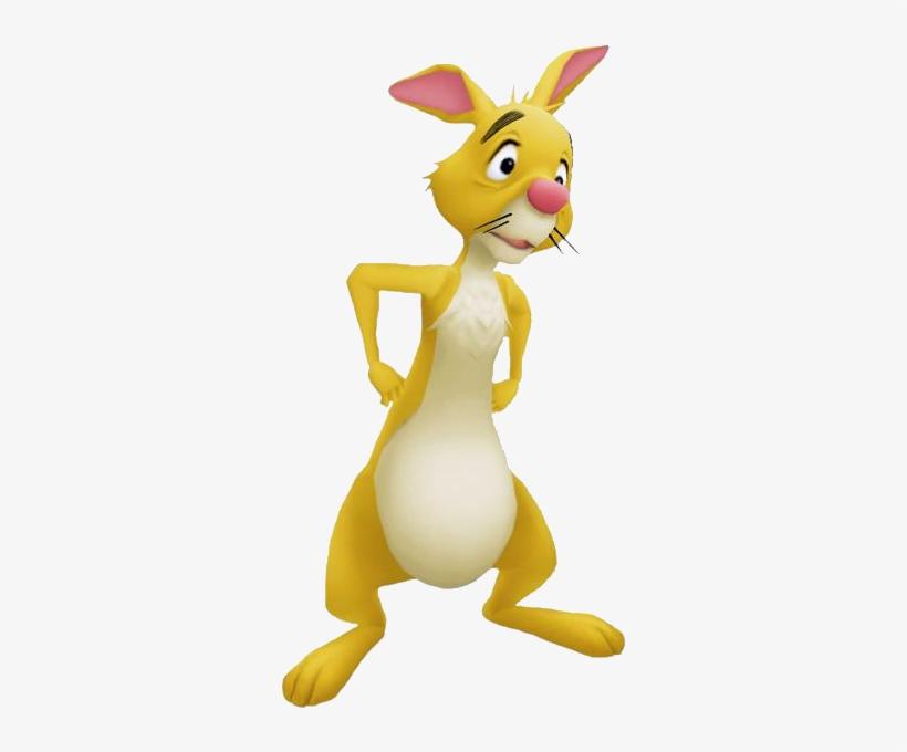 Rabbit Kh - Kingdom Hearts Winnie The Pooh Rabbit, transparent png #413995
