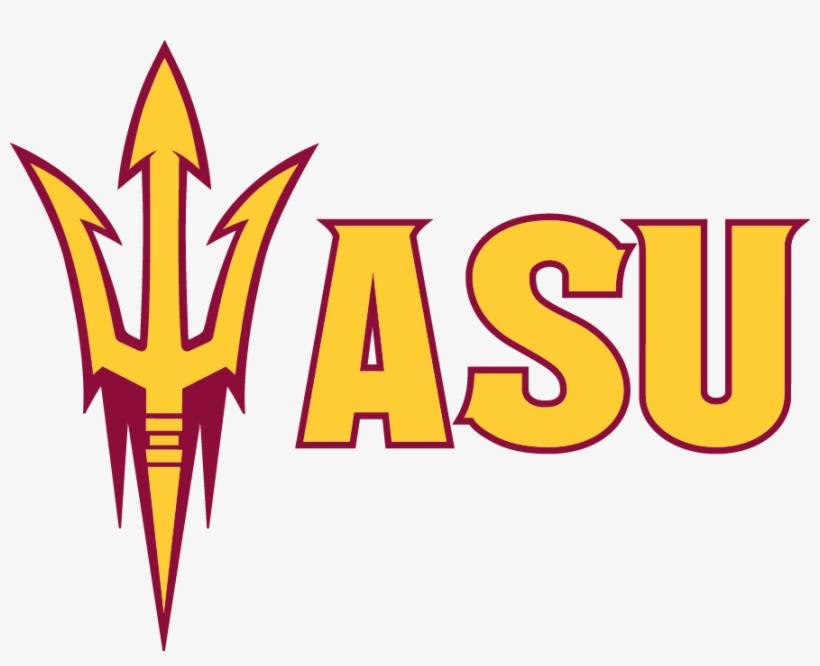 Arizona State University - 3x4 Logo Decal Arizona State, transparent png #414084