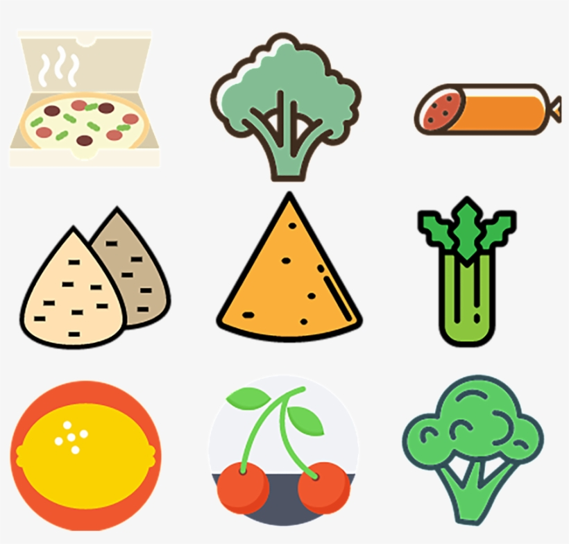 Green Food And Food Food And Food Icon Icons - Food, transparent png #415395