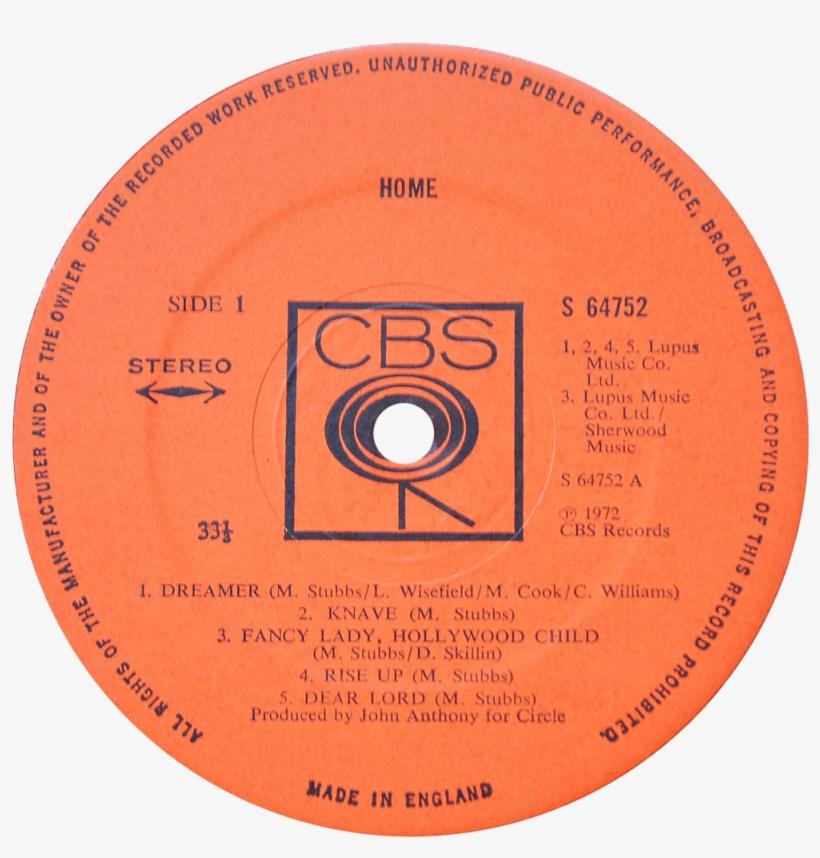 S 64752 Home Label - Lp Label, transparent png #418196