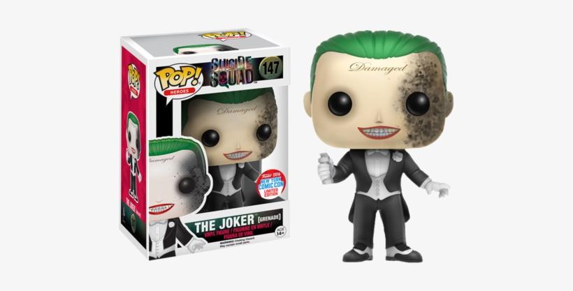 Suicide Squad Funko Pop The Joker - Funko Pop Suicide Squad Joker, transparent png #418349