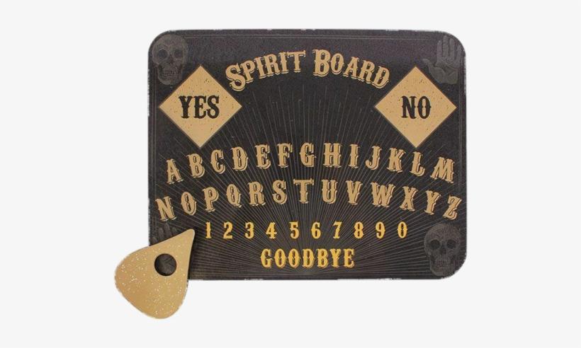 Skull Print Spirit Board - Attitude Clothing Skull Print Spirit Board, transparent png #418534