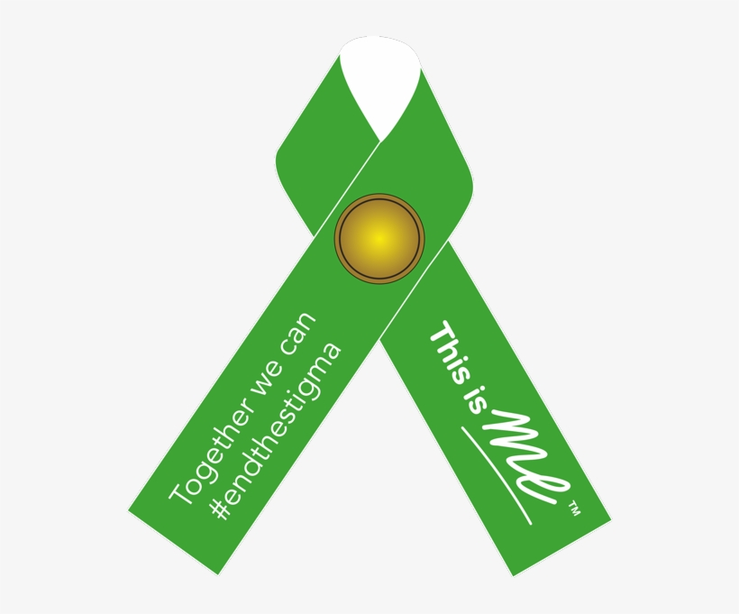 Mental Health Awareness Week Green Ribbon Campaign - Mental Health Awareness Week May 2018, transparent png #418649