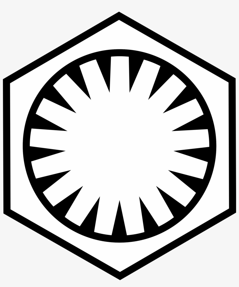 First Order Star Wars Wikipedia Emblem Of - Star Wars First Order Logo, transparent png #419447