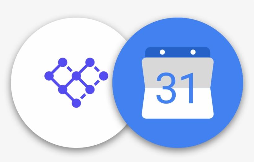 Google Calendar Png - Google Calendar Icon Circle, transparent png #419610