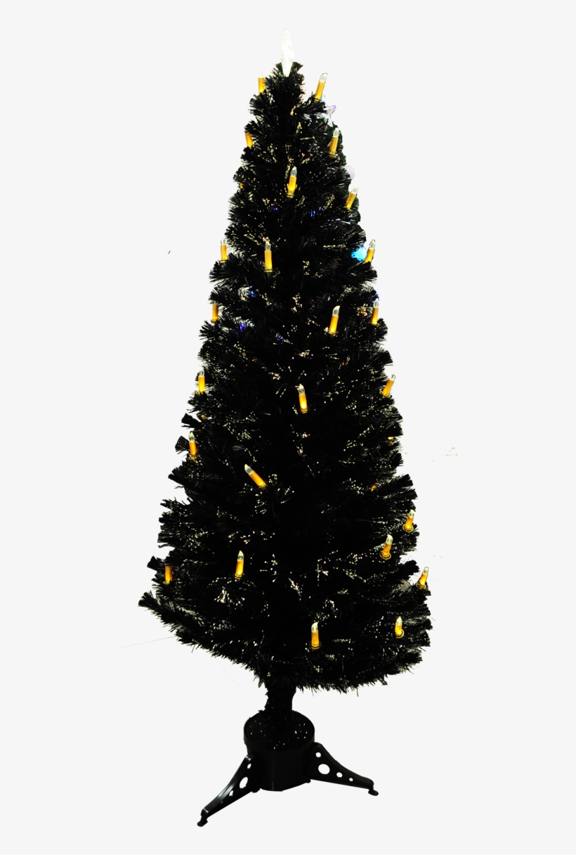 Led Chrstmas Tree With Candle Stick - Christmas Day, transparent png #4100078