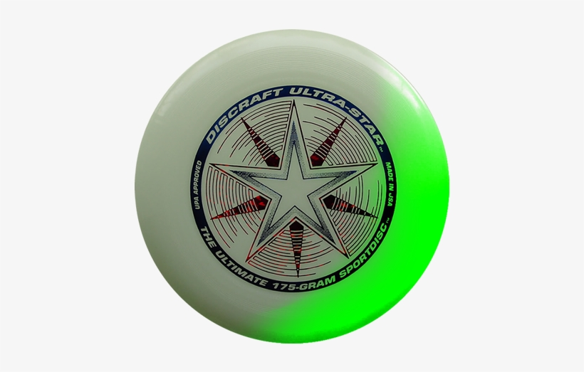 Ultra Star Glow In The Dark Disc - Frisbee Glow In The Dark, transparent png #4101517