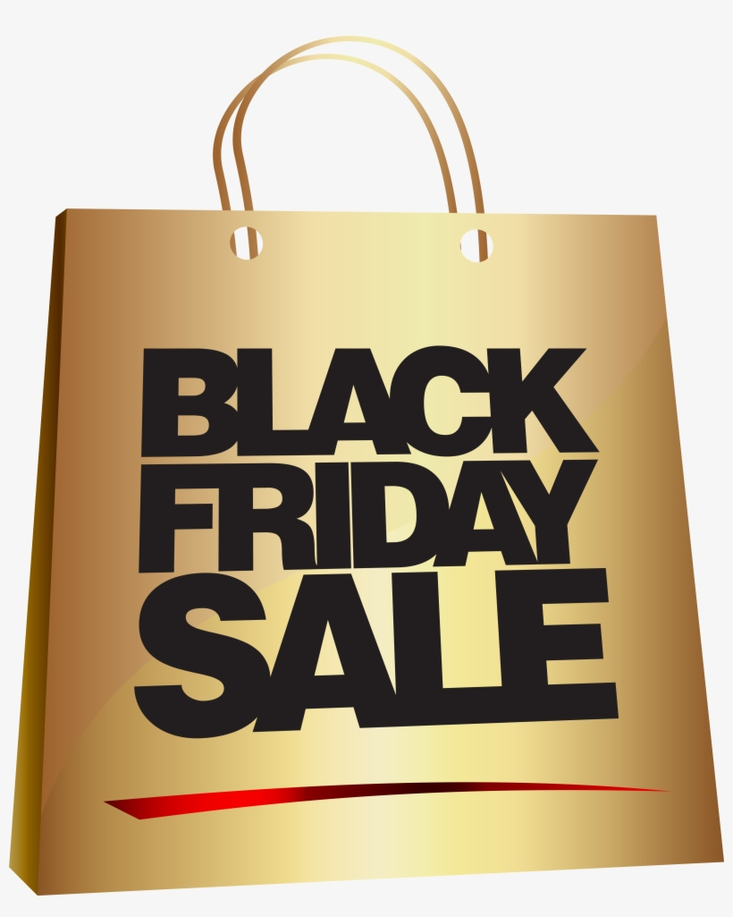 Black Friday Sale In Gold, transparent png #4103195