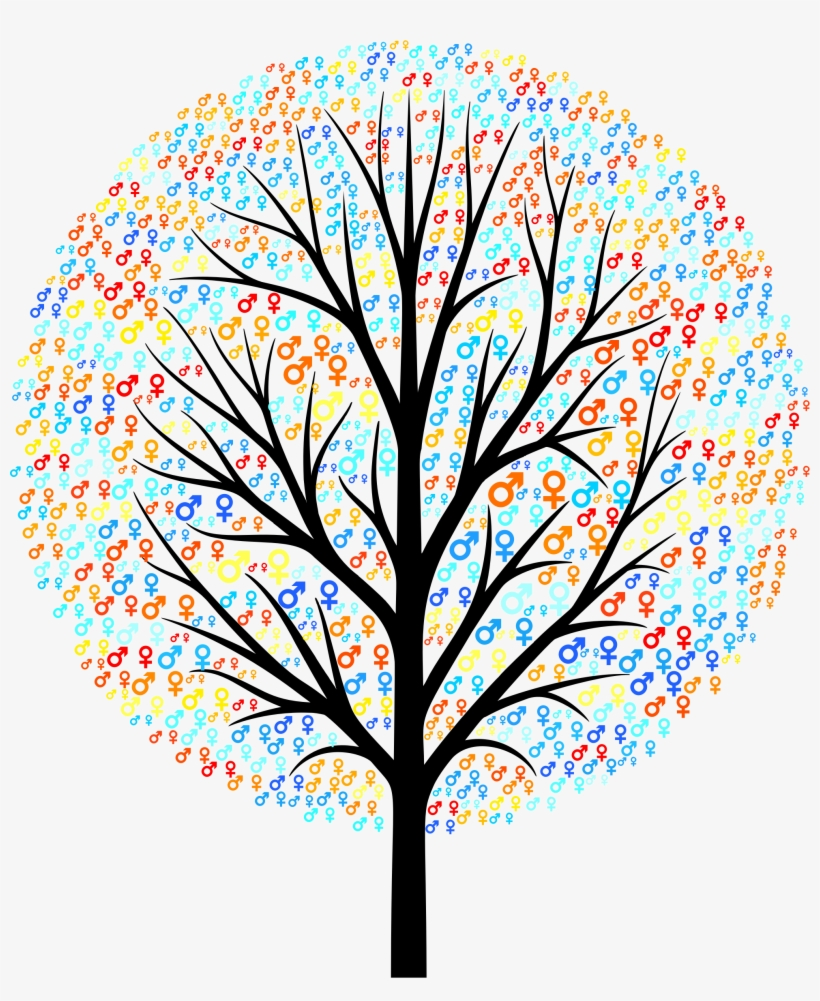 This Free Icons Png Design Of Gender Symbols Tree, transparent png #4107539