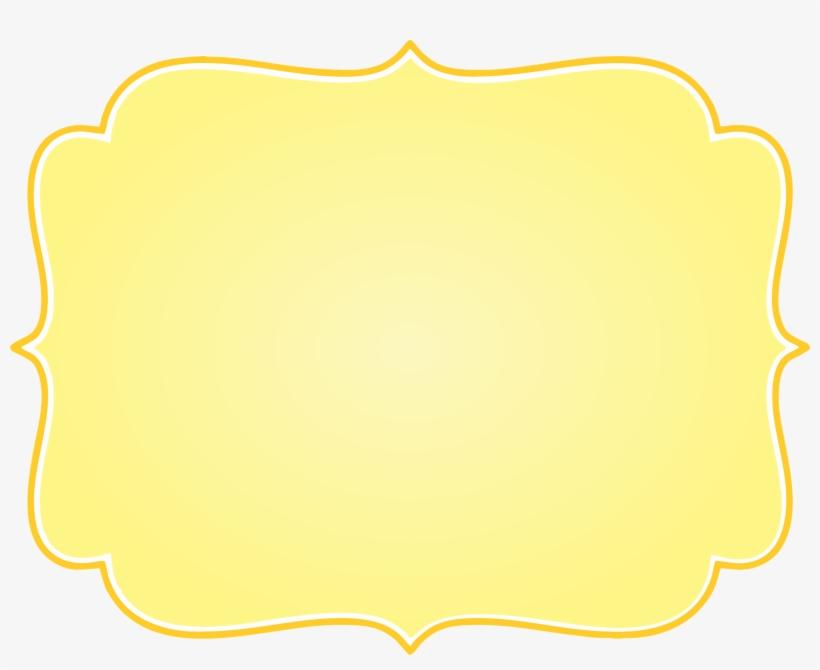 Frame Vintage Amarelo Png, transparent png #4107767