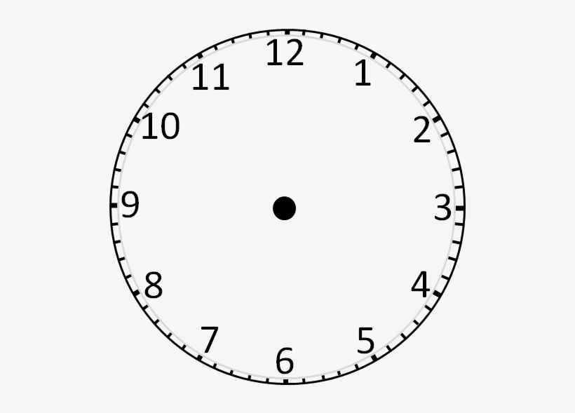 Printable Clock Templates - Clock Face Without Hands ...