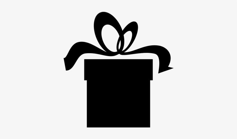 Present Box Black Silhouette Free Vectors Logos Christmas Present Silhouette Free Transparent Png Download Pngkey