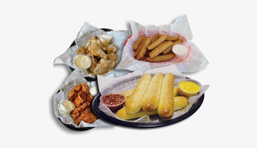 Breadsticks, Chicken Wings, Ravioli And More Category - Kids' Meal, transparent png #4110201