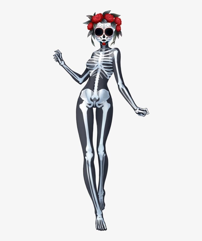 Santa Muerte - Ghost Halloween Mask, transparent png #4111044