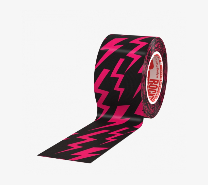 """Rocktape Single Roll - Rock Tape H20 For Swimmers 2"""" - Black - 2 Inch, transparent png #4111825"""