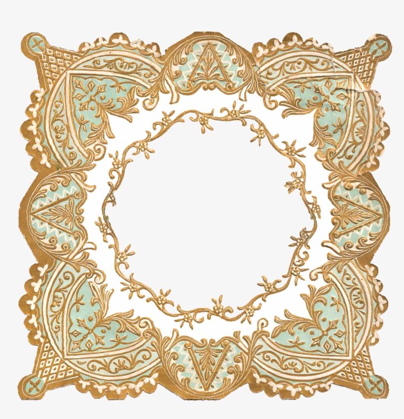 Digital Border Crafting Frame Printable Download - Decoration Frame Border Png, transparent png #4111851
