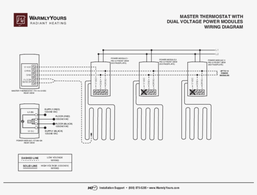 Wiring Diagram For Dual Thermostat
