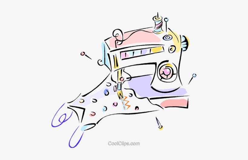 Maquinas De Costura Livre De Direitos Vetores Clip Illustration