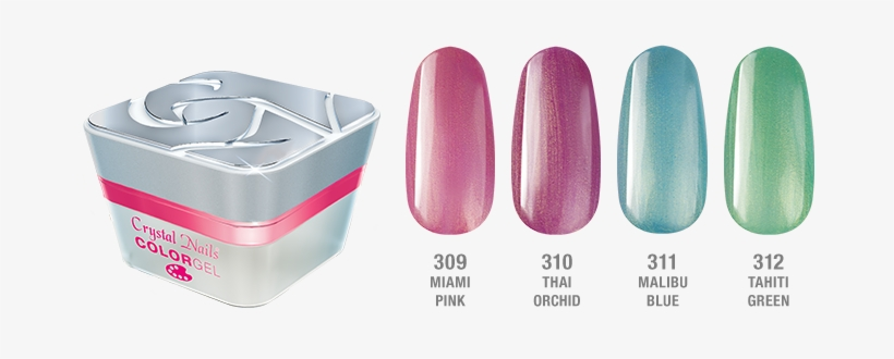 Wear The Colors Of Spring And Summer On Your Nails - Decor Gel 0.17 Fl Oz (0-99), transparent png #4127329