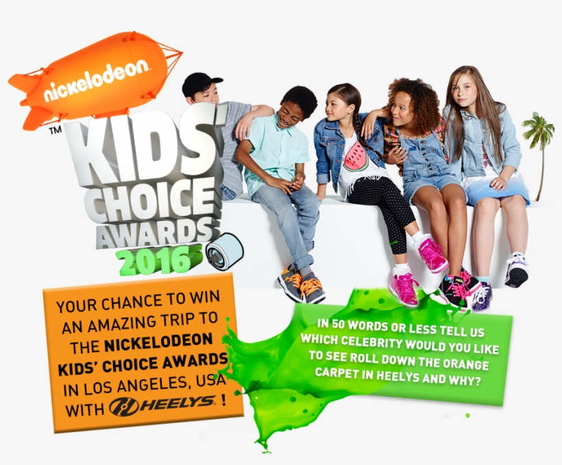 Hosted By Country Music Superstar Blake Shelton, This - Nickelodeon Kids' Choice Awards, transparent png #4134997