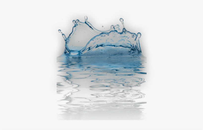 Ftestickers Water Splash Puddle - Water Drop In Png, transparent png #4135393