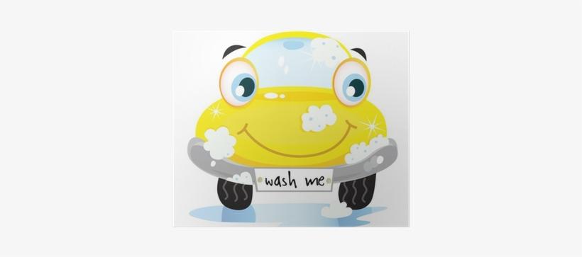 Car Wash Service - Car Wash Me Yellow Car, transparent png #4136844