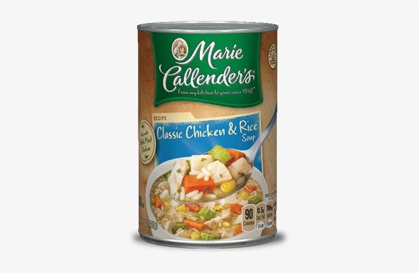 Classic Chicken & Rice Soup - Marie Callender Chicken And Rice, transparent png #4137172