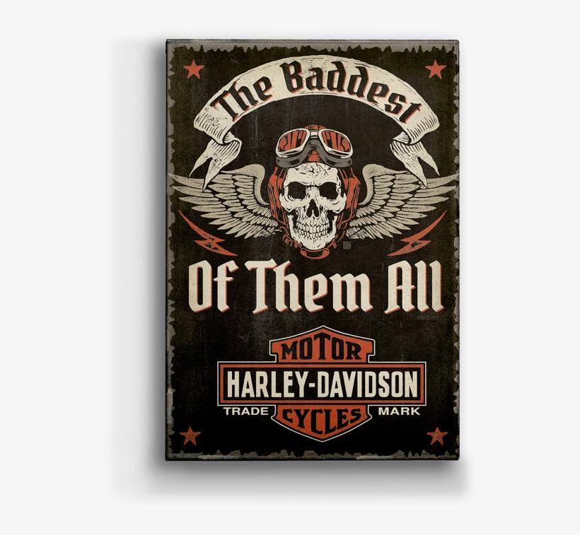 """Harley-davidson® Winged Skull - Harley-davidson 60""""x80"""" Plush Blanket, transparent png #4138161"""