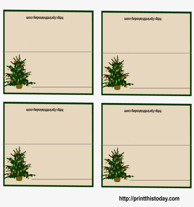 photo regarding Free Printable Christmas Place Cards named No cost Printable Xmas Space-playing cards Pertaining to Xmas