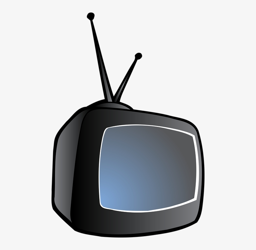 Television Clipart Old School - Tv Clipart, transparent png #4139988