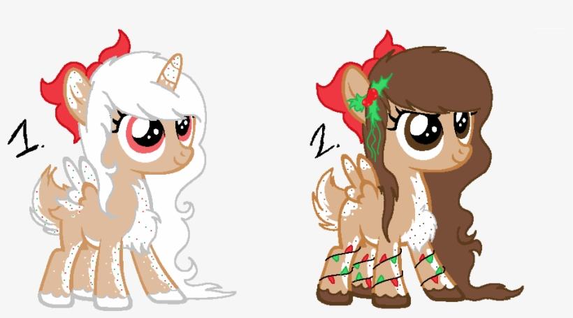 Adoptable, Alicorn, Alicorn Oc, Artist - Mlp Oc Christmas Light, transparent png #4140503
