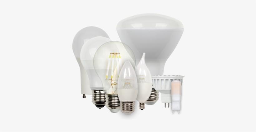 Led Light Bulbs - All Led Light Bulbs, transparent png #4140586